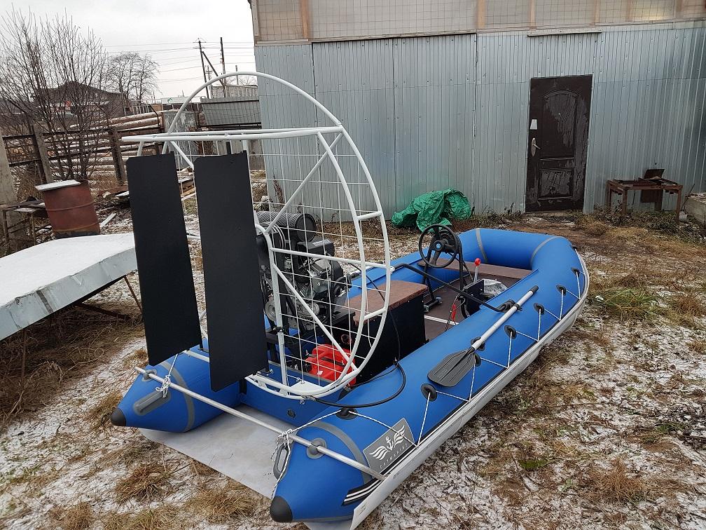 Изготовление аэролодок в СПб