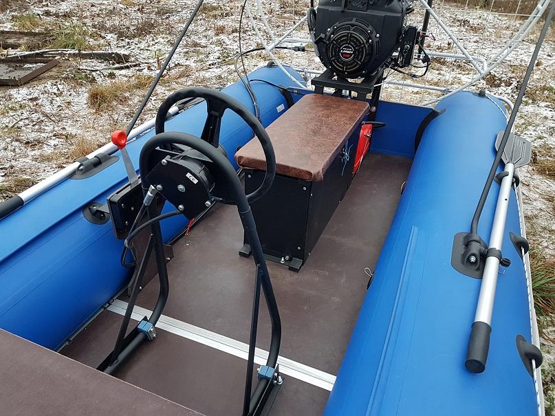 Аэролодка - рулевая система