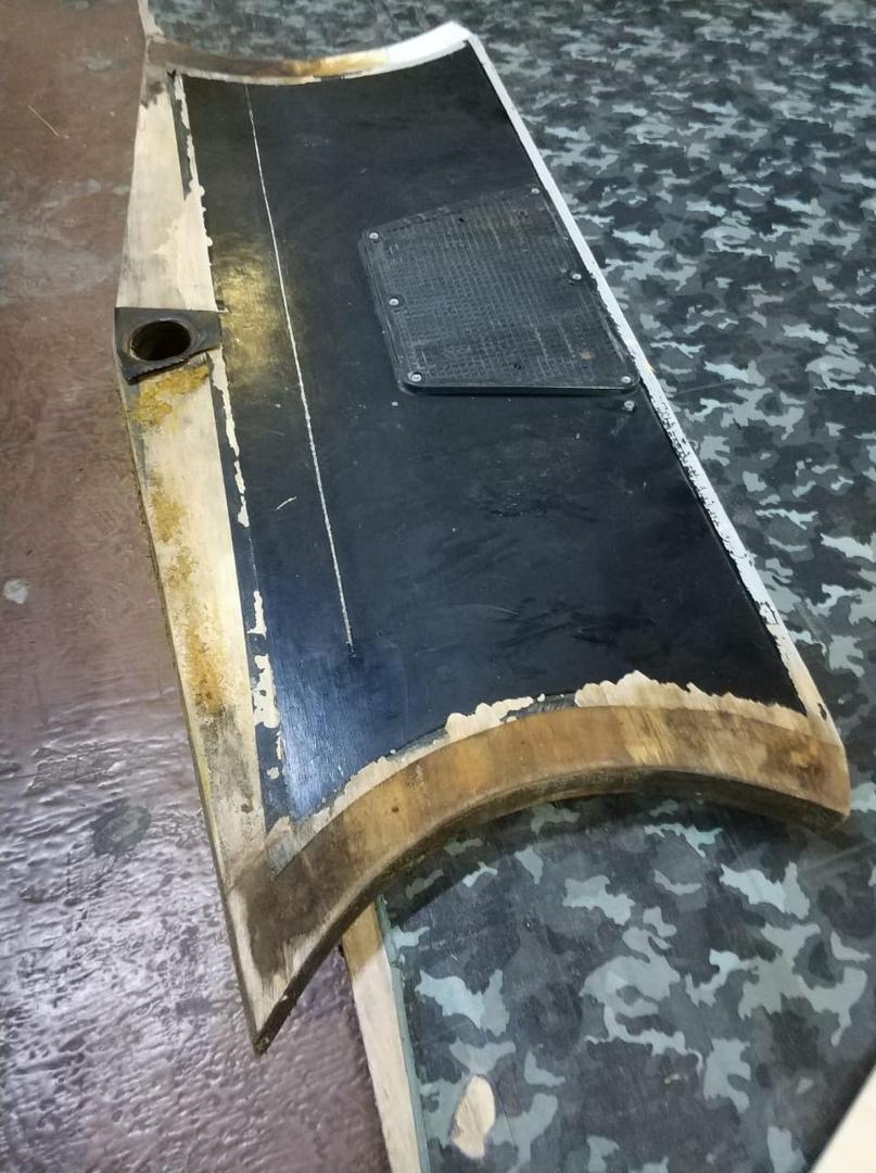 транец пайольной лодки